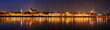 Night panorama in Torun
