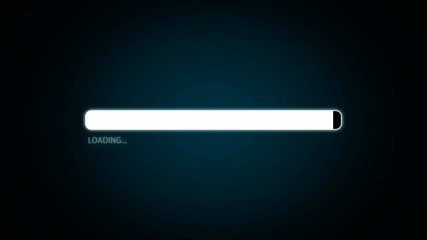 Loading bar - with chroma key