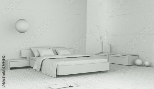 Modell - Schlafzimmer