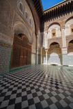 Al-Qarawiyyin Mosque, Fes(Fez), Morocco (7) poster