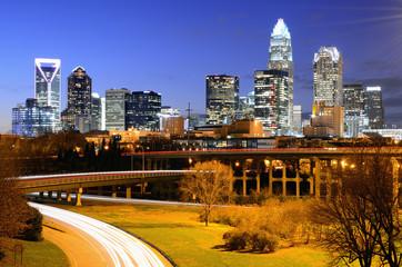 Uptown Charlotte, North Carolina Skyline
