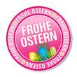 Sticker - Frohe Ostern (II)