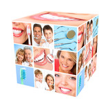 Fototapety Teeth whitening.