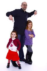 Familie - Geschwister - Kleinkinder - Erwachsener - 006
