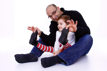 Familie - Geschwister - Kleinkinder - Erwachsener - 022