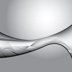 Grey abstract vector background