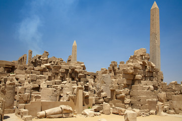 Ruins of the Temple in Luxor