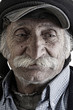 old traditional lebanese man with mustache