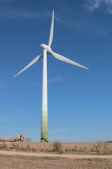 Wind turbine is a symbol of green energy