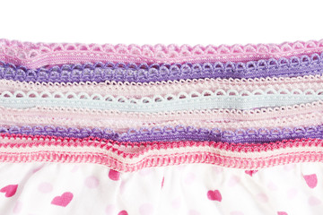 Part of pile of underwear
