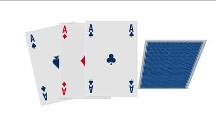 Poker di assi, animazione