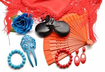 Adornos de flamenco