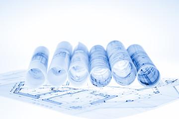 architecture blueprints & house plan