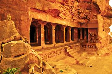 Badami, Karnataka - India del Sud, templi rupestri