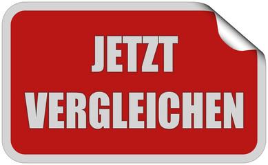 Sticker rot eckig curl oben JETZT VERGLEICHEN