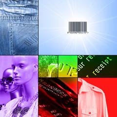 retail collage