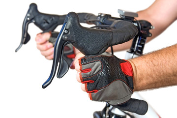 Control of the road bicycle