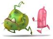 Préservatif et virus