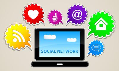 social network contact