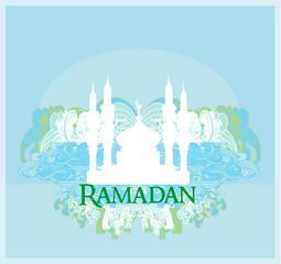 Ramadan background - mosque