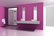 Bathroom Pink