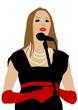 Women singer