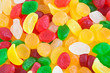 Candy assortment background. CLOSE UP