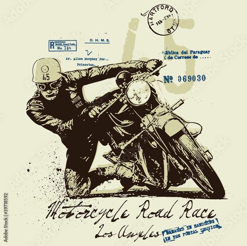 Motorcycle © vectorgraphic82