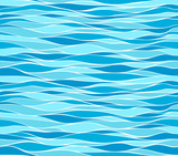 Seamless marine wave patterns