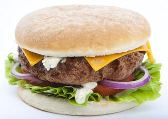 hamburger à la viande
