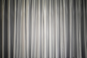 Grey curtain tissue background