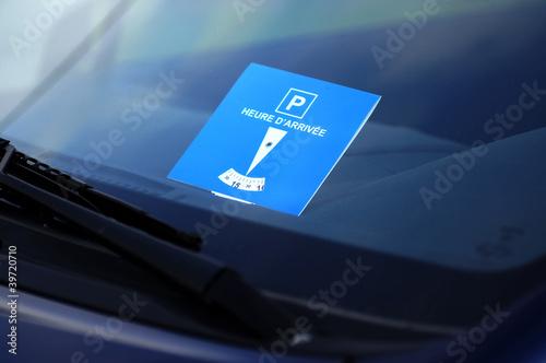 disque de stationnement 2