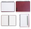 Set of Notebook isolated.
