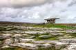 Poulnabrone dolmen, 5,000 year old portal tomb - Ireland.