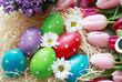 Ostereier mit Blumen 1
