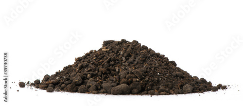 canvas print picture Heap dirt