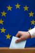 Wahlurne Europa