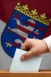 Wahlurne Hessen