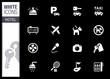 White - Hotel icons