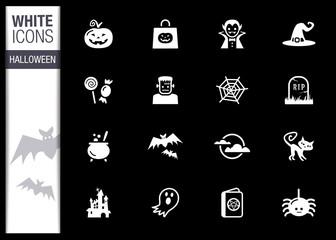 White - Halloween Icons