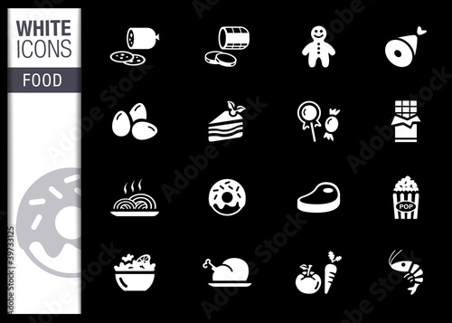 White - Food Icons