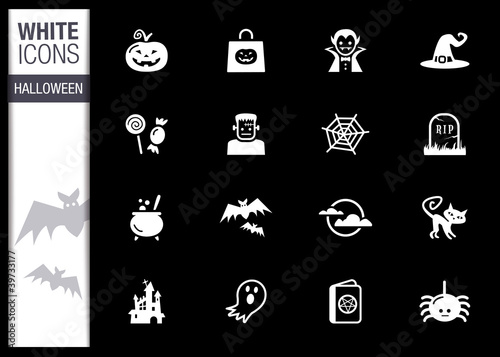White - Halloween Icons