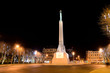 Milda - the monument of freedom in Riga. Latvia