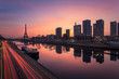 Paris sunrise / Paris lever de soleil