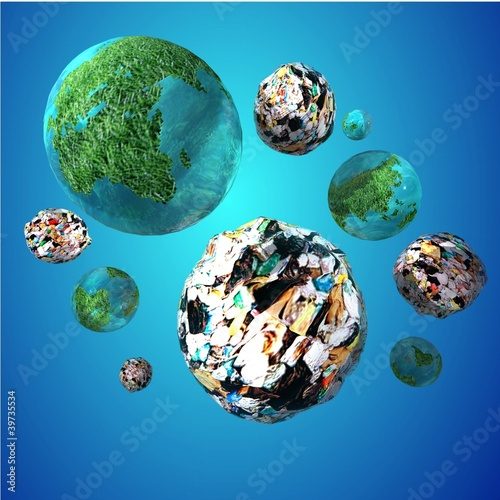 Trash Invasion of the Planet Earth