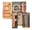 get fit - motivation concept