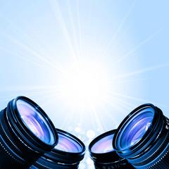 Camera lens flare