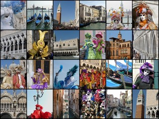 Carnevale di Venezia - Collage