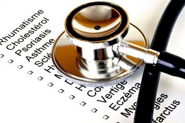 Le questionnaire médical