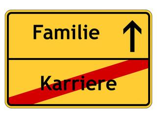 Familie statt Karriere